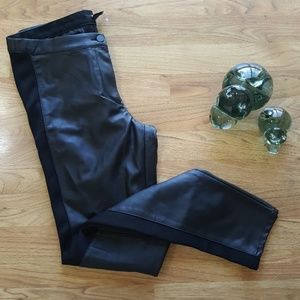 NWOT H&M Faux Leather Skinny Pants Sz12